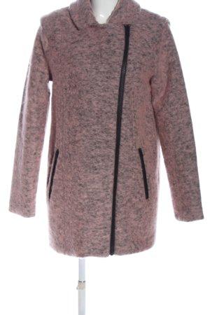 Minimum Winter Coat pink-black flecked casual look