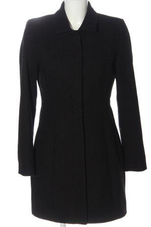 Minimum Abrigo de lana negro estilo «business»