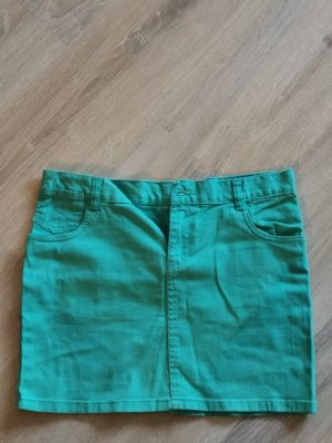 okay Stretch Skirt turquoise