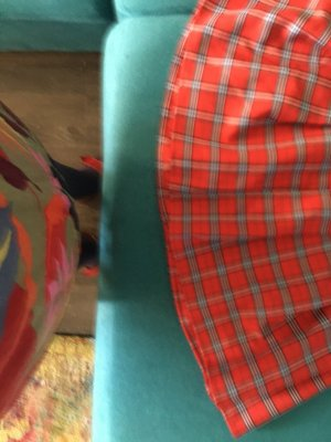 iEFiEL Plaid Skirt multicolored polyester
