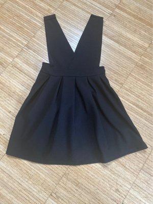 Overgooier overall rok zwart