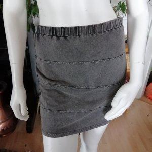 Atmosphere Mini-jupe gris foncé