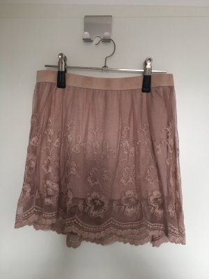 Lace Skirt rose-gold-coloured