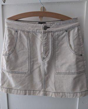 BDG Miniskirt black-oatmeal