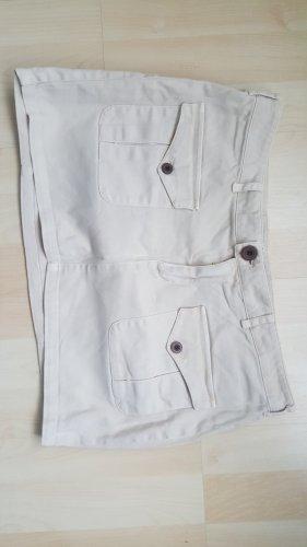 Minirock beige, Gr. 40