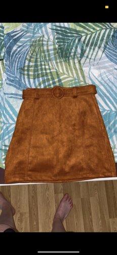 Cache & Cache Jupe taille haute orange