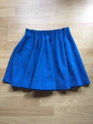 H&M Cirkelrok neon blauw