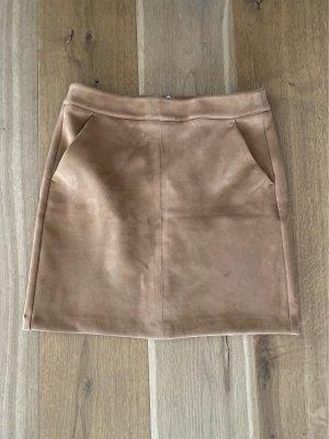 Vero Moda Minifalda coñac