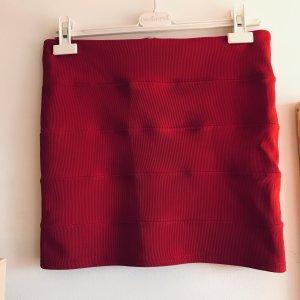 Minirock Deep red aus London Vintage 38