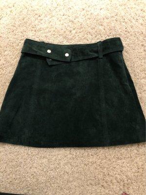 Minirock dunkelgrün