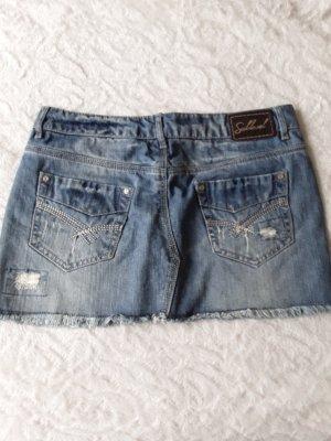 Sublevel Miniskirt azure