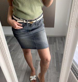 Minirock G-Star grau Jeans / 36 38 28 / Jeansrock