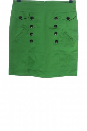 Minirock grün Casual-Look