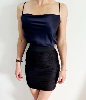 Minirock High waist 90s Draped schlauchrock pencil skirt