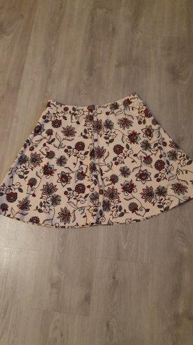C&A Miniskirt multicolored cotton