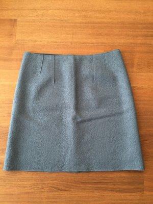 Marc O'Polo Mini rok lichtblauw Wol