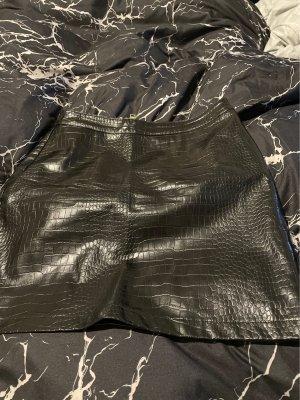 New Yorker Jupe en cuir synthétique noir