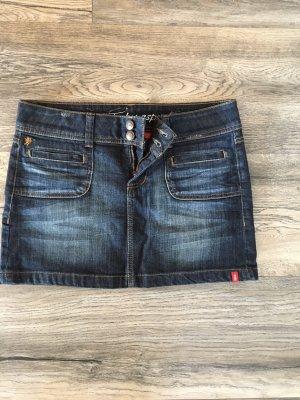 edc by Esprit Jupe en jeans bleu foncé