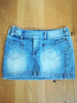 Freesoul Mini-jupe bleu