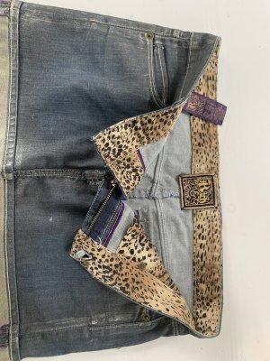 Rich & skinny Gonna di jeans oro-grigio ardesia