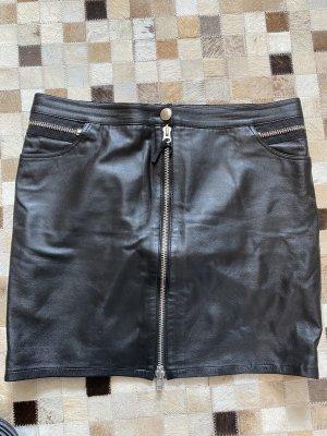 Minirock/ Lederrock schwarz