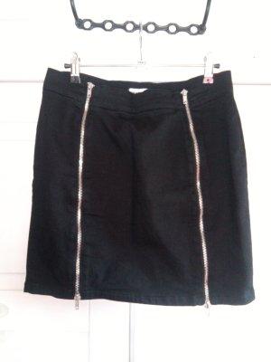 Minirock mit 2 Reißverschlüssen