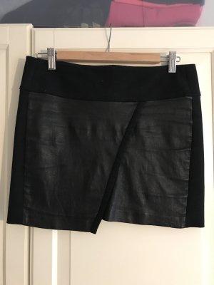 Iro Leather Skirt black