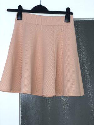 New Yorker Plisowana spódnica łosowiowy-brzoskwiniowy