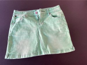 One green elephant Mini-jupe vert menthe