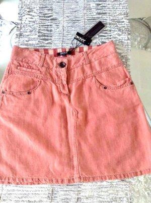 DKNY Mini-jupe abricot-rose