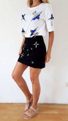 Silvian heach Mini-jupe noir