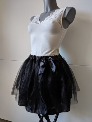 minirock Tutu Ballerina Rock schwarz S 34 36 Stretch