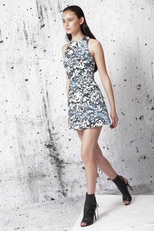 Cameo Mini rok donkerblauw-staalblauw