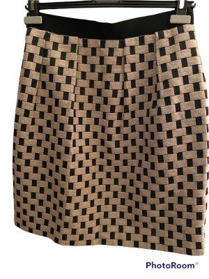 COS Minifalda negro-beige