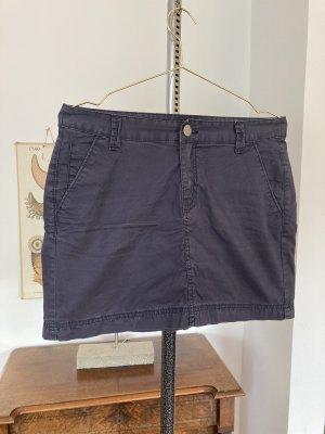 Blaustoff Herrlicher Mini rok donkerblauw-leigrijs