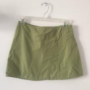 Minirock von Sisley Gr. 32 hellgrün leichter Jeansrock