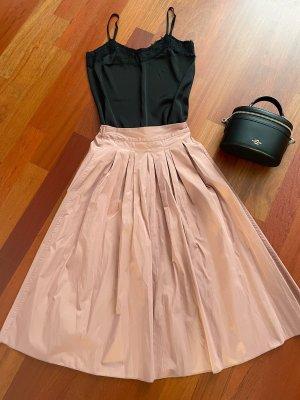 Stradivarius Spódnica midi różowy