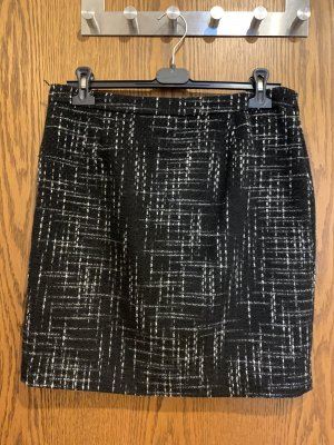 Manguun Miniskirt black-white