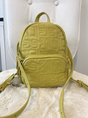 Liebeskind Mini Backpack lime yellow leather