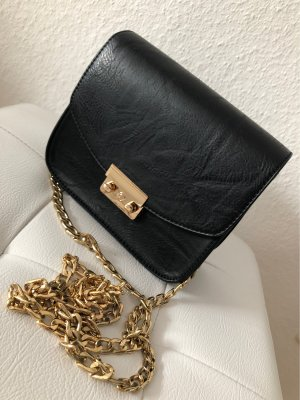 Borsetta mini nero-oro