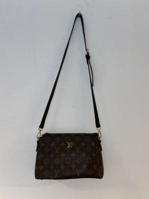 Luis Vuitton Minibolso marrón claro-marrón oscuro