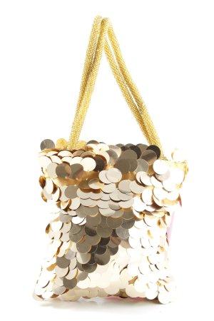 Mini sac doré style extravagant