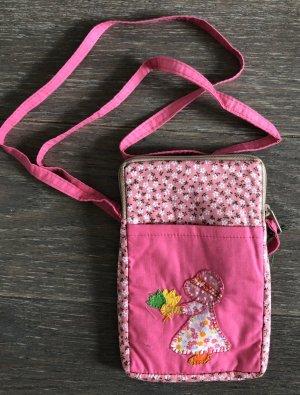 Handmade Pokrowiec na telefon komórkowy różowy Bawełna
