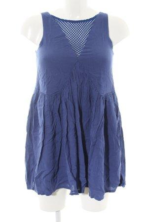 Minkpink Blusenkleid blau Casual-Look
