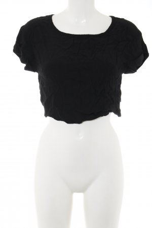 Minkpink Cropped Shirt schwarz Casual-Look