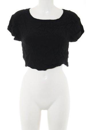 Minkpink Cropped Shirt schwarz Casual-Look
