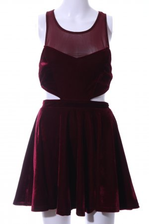 Minkpink Cut-Out-Kleid rot Elegant