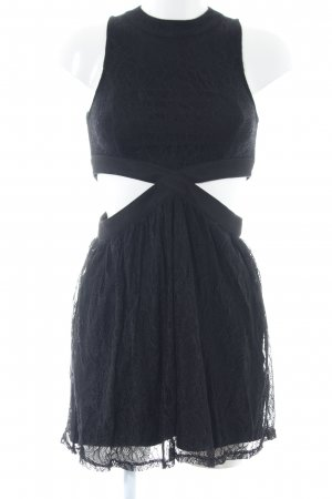 Minkpink Cut-Out-Kleid schwarz Casual-Look