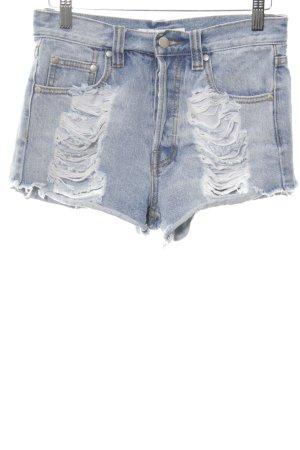 Minkpink Jeansshorts blau Casual-Look