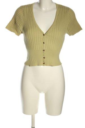 Minkpink Strickshirt blassgelb Casual-Look